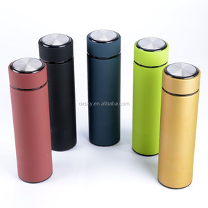 Double wall Stainless Steel Travel Mug Water Flask Insulated HOT COFFEE THERMOS TEA INFUSER Bottle