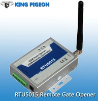 GSM roller swing opener control kit RTU 5015 access control chamberlain solar powered gate opener