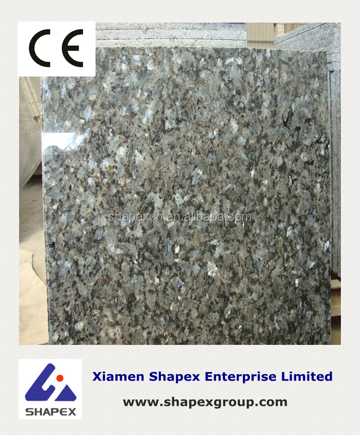 Importing blue granite block from China