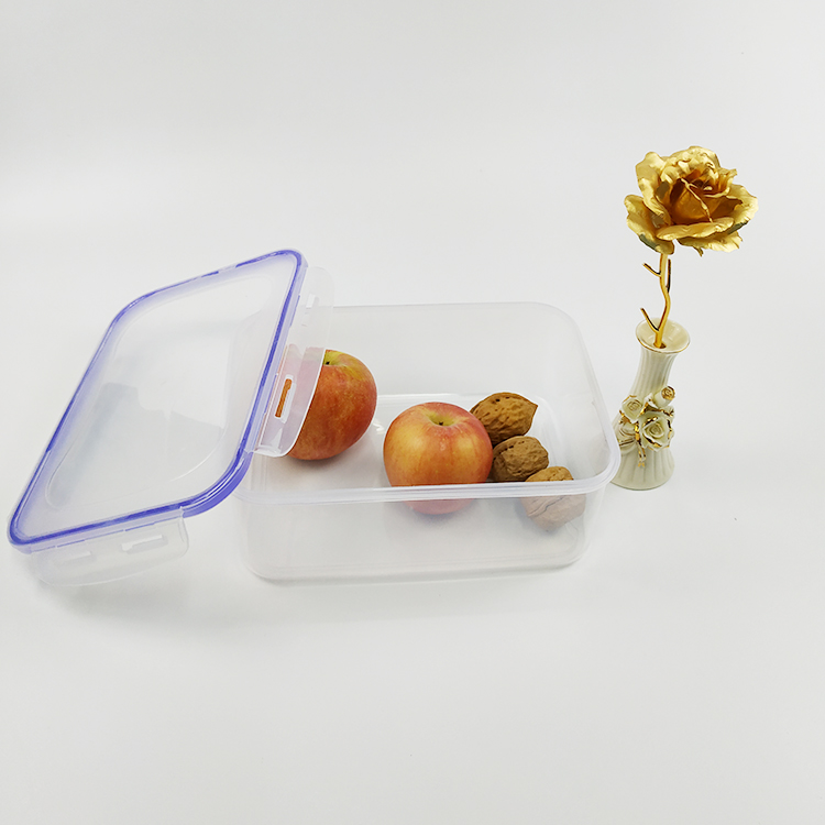 Hot Sale Plastic Rectangular Keep Food Fresh Box Food Crisper