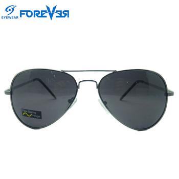Large Frame Fashion Cool Imitation Pilot Metal Sunglasses - Buy ...