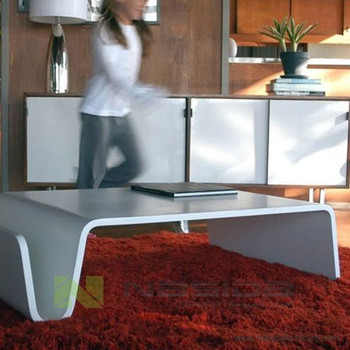 Tl Offi Scando Coffee Table By Eric Pfeiffer White Black Red And - Scando coffee table