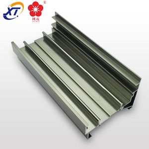 aluminum j t channel for window section