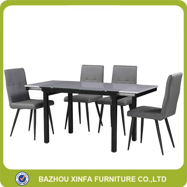 Teahouse Extendable Grey Gl Detachable Dining Table