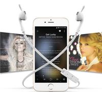 Good quality v4.1 fashion wireless bluetooth stereo earphones headphone for sporting