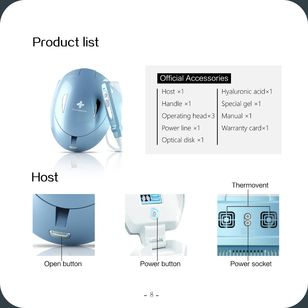2018 trending products innovative Hifu Ultrasound Skin Tightening Rejuvenation For Face