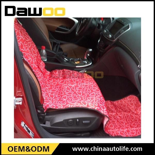 Beautiful Red Pet Car Seat Covers Universal