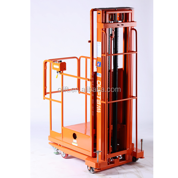 Best quality Olift order picker and reach truck with electric lifting with certificate CE