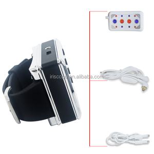 26 Diodes Red And Blue Light Lower High Blood Pressure And Diabetes Wrist Semiconductor Laser Acupuncture Therapy Watch