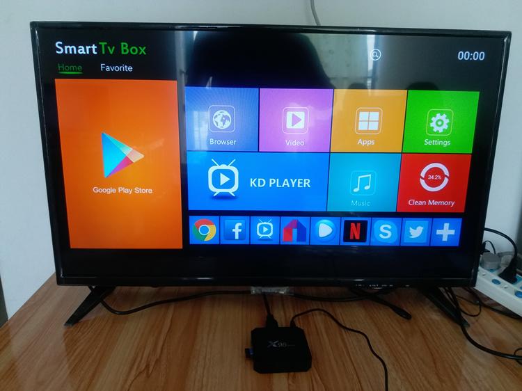 x96mini smart tv box