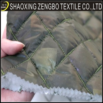 Military Uniform Fabric,Quilted Thermal Fabric,100% Polyester ... : quilted insulated fabric - Adamdwight.com