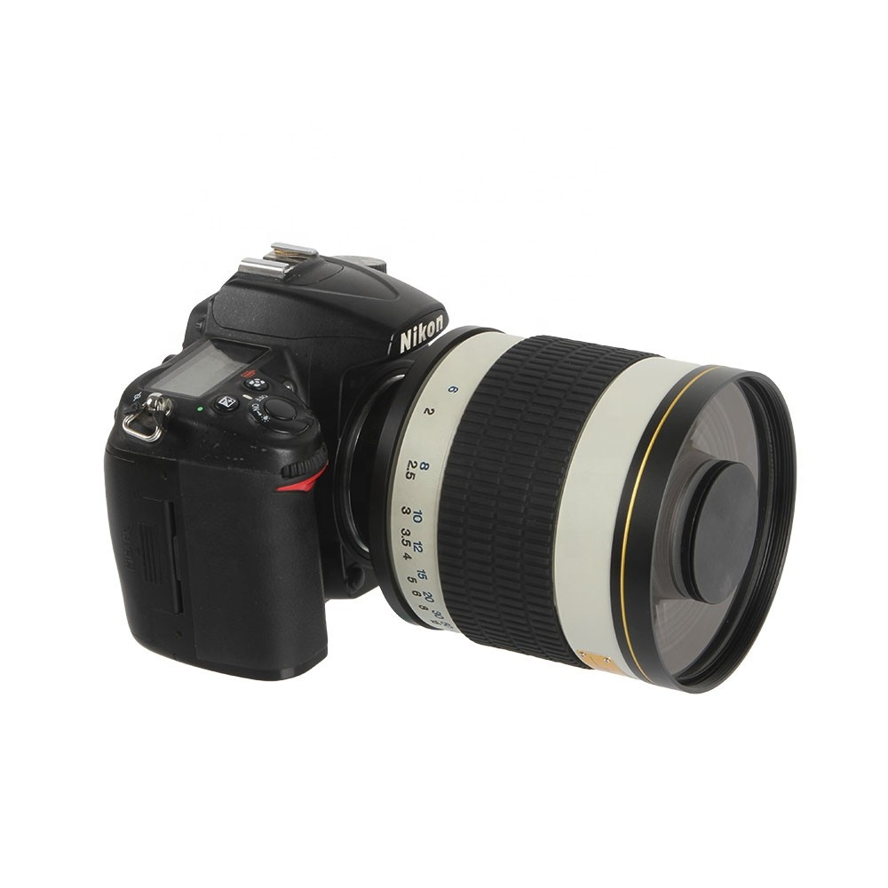 OEM 500mm f6.3 T-Mount reflex mirror lens black