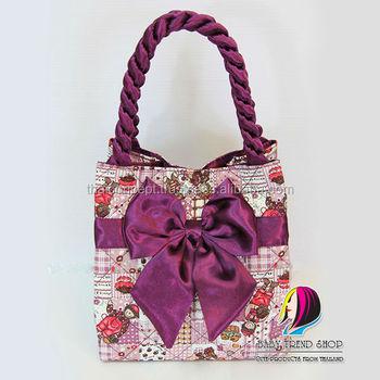 Multi Pattern Doll Las Handbags