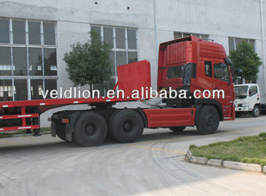 Widely used 6*4 tractor head used for flat bed semi trailer