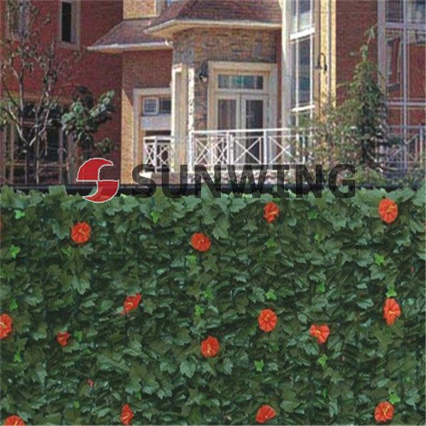 Bosso recinzione foglie di plastica siepe sintetica for Siepe sintetica artificiale