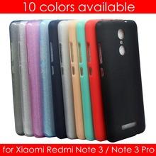 Xiaomi Redmi Note 3 Case (5.5 inch) Ultra Slim Fit 0.5mm Soft Transparent & Matte TPU Skin Phone Cover for Xiaomi Redmi Note 3
