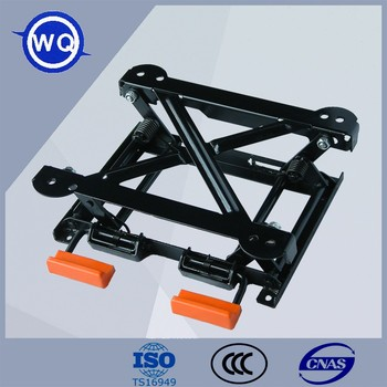 Mechanical Structure Manual Adjustment Of The Car Seat Lifter Base ...