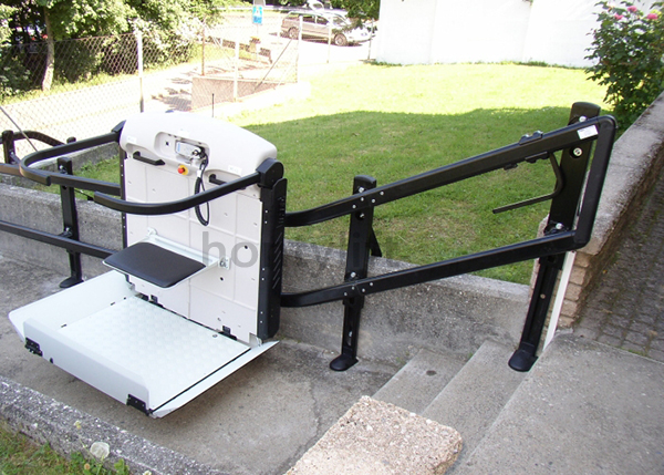 Hydraulic Wheelchair Lift : Hydraulic cheap disable people used inclined wheelchair