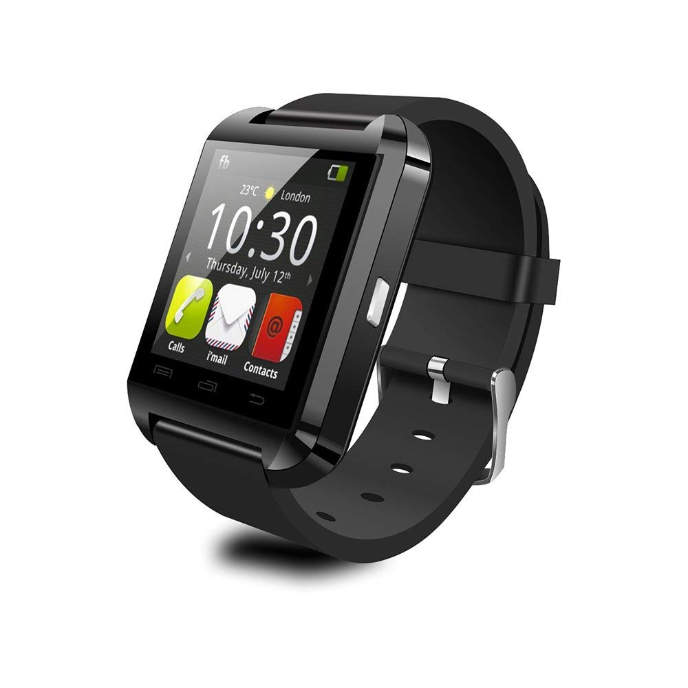 Anself 2G Smart Watch Touch Screen BT 3.0 Fitness Tracker Pedometer Calendar Sedentary Reminder Smart Wristwatch for Android 3.0