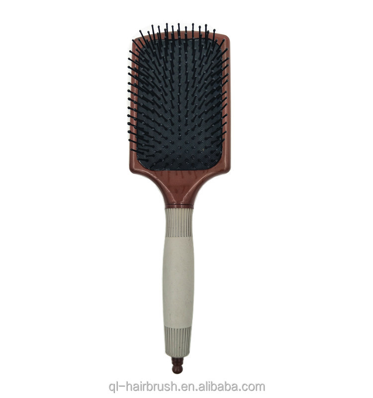 New style wholesale cushion plastic custom private label professional hair brush korea