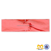 Pink Elastic Cotton Baby Kids Headband Make A Knot New Style Girl Handmade Baby Headbands