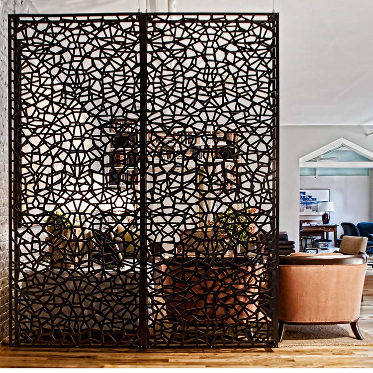 Hot Ing Wrought Iron Room Divider Screens Laser Cut Parions