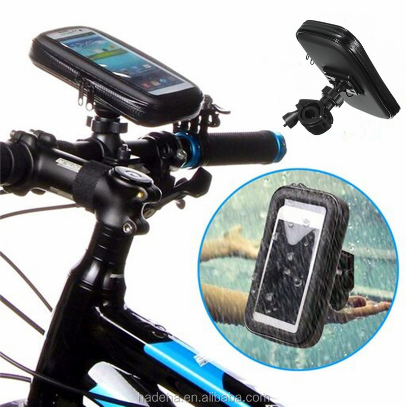 New arrival easy mount bike cell phone holder waterproof