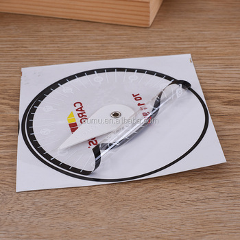 New Style PVC expansion sheet Car Parking Disc with clock timer