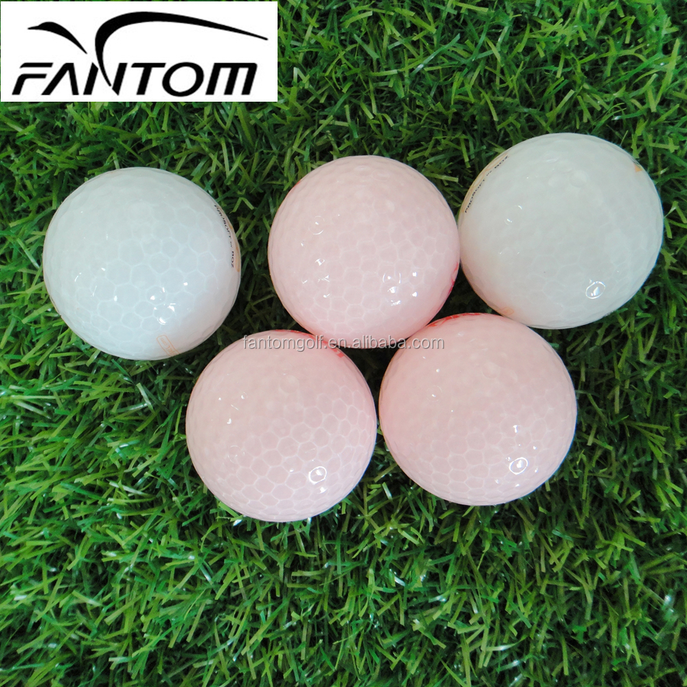 2 Layers Golf Ball, Transparent Cover Golf Ball by Fantom---320 Dimples