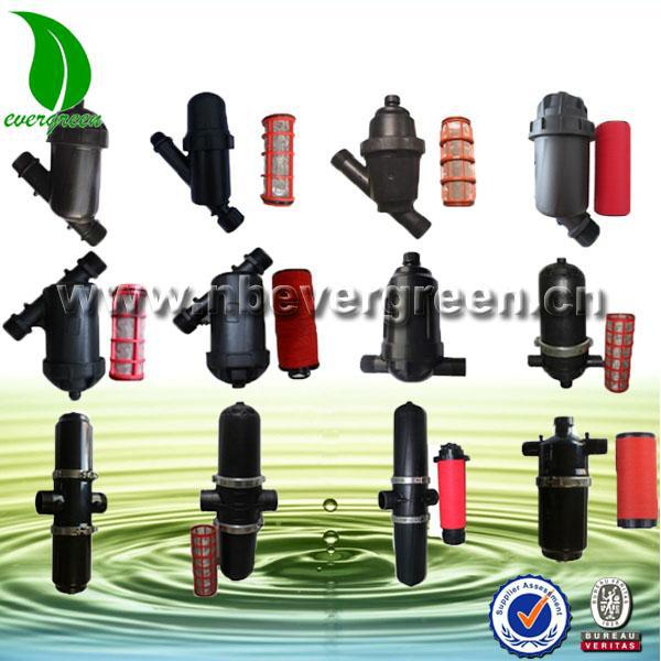 Drip irrigation system 120 mesh plastic water treatment filter for greenhouse and garden
