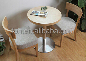 Elegant Comfortable Coffee Shop Tables and Chairs FOHCXSC02 View
