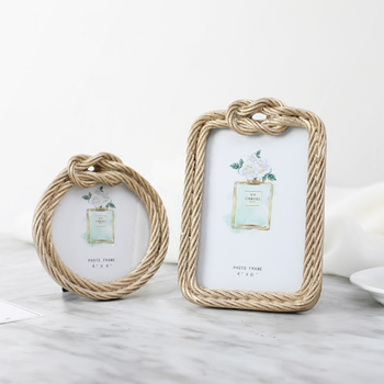 New Product Ideas 2018 Wedding Resin Rope Picture Photo Frame For ...