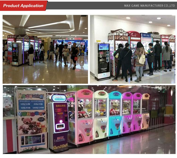 coin vending Premium currency money exchange machine