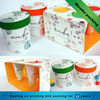 Beautiful design candy packaging paper cup