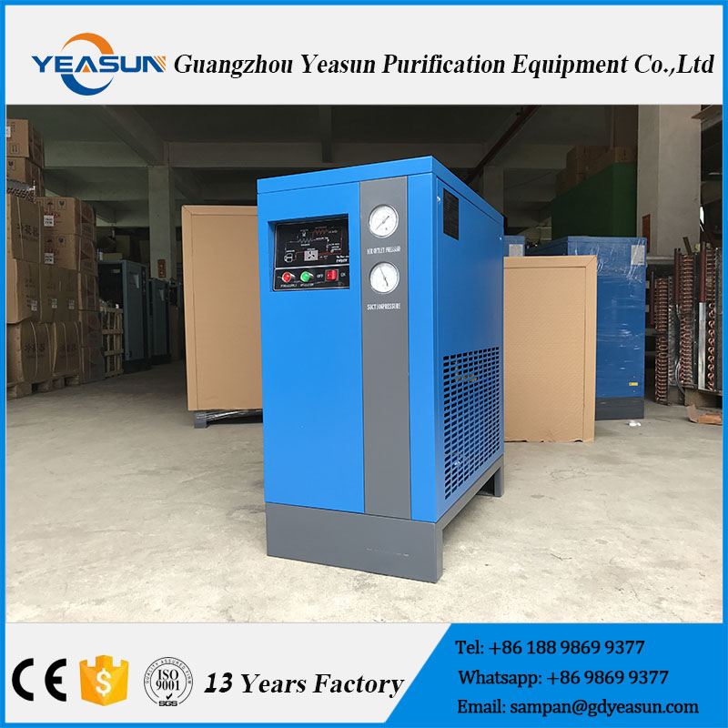 Stable And Efficiency High Temperature Home Refrigerated Air Dryer For Screw Air Compressor