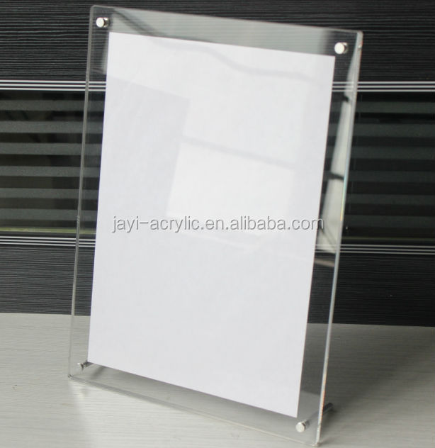 Acrylic Poster Frame Displaysacrylic Sheet Poster Frameclear
