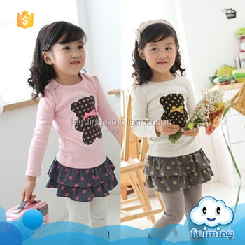 c31c2b6ce 2016 China supplier baby clothes manufacturer children wear cheap wholesale  ruffle clothing