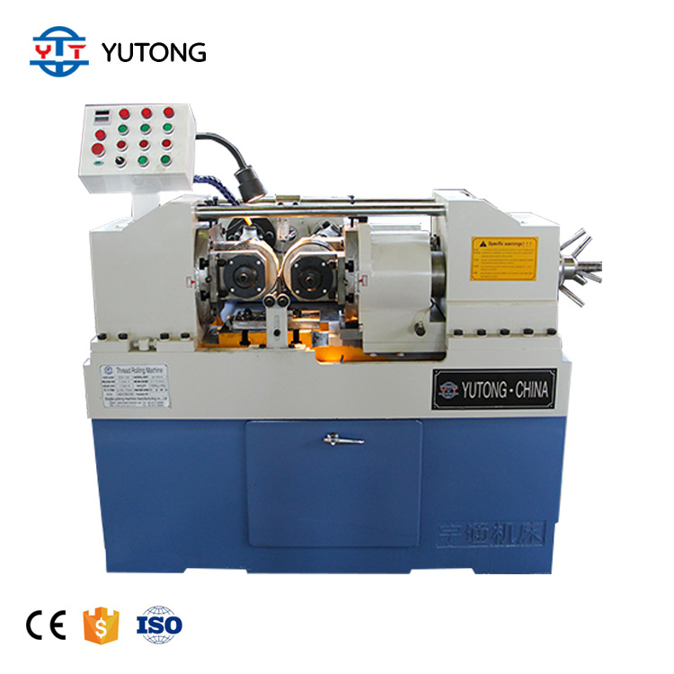 Anchor Bolt threading เครื่องสกรู threading Machine