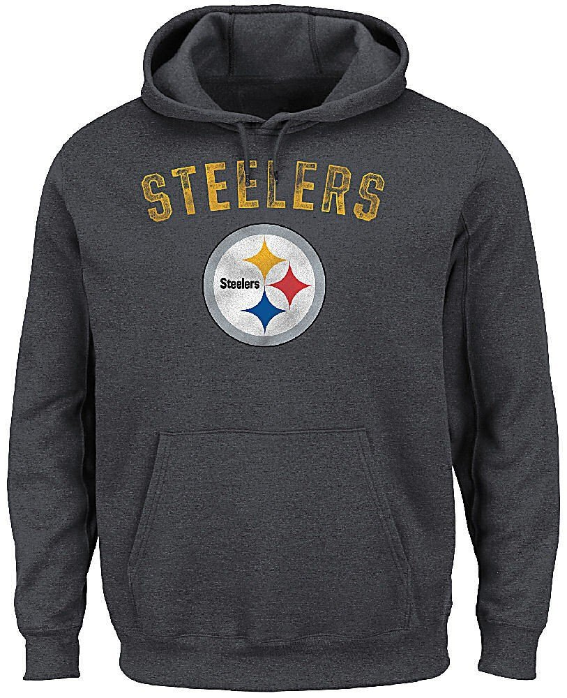 Pittsburgh Steelers Kick Return 2 Majestic Hoodie Sweatshirt 3867ffe90