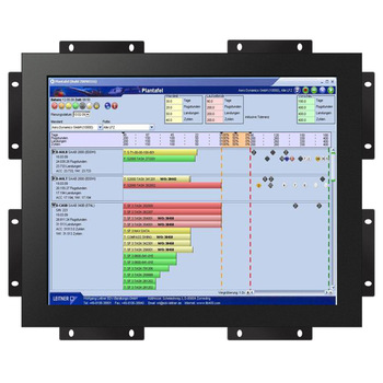 Embedded 22 inch open frame touch monitor screen for kiosk
