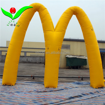 Outdoor Roof Pvc Tarpaulin Advertising M Inflatable Led