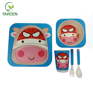 Good price of China different kinds of children tableware bamboo