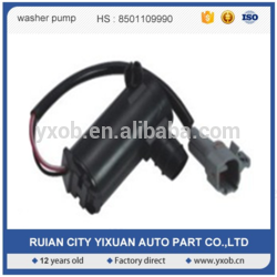 Factory supply washer pump china car washer motor for LADA2101