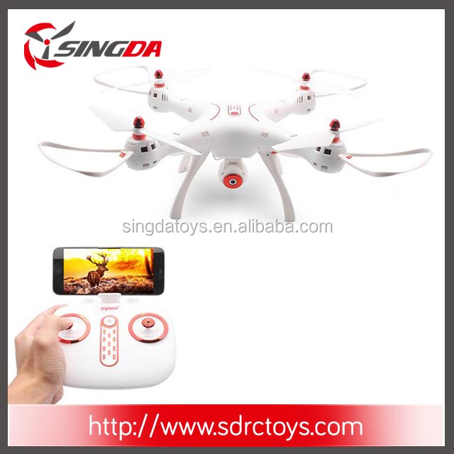 2017 new Syma X8SW 2.4G 4CH 6Axis Big Profession WIFI FPV RC Drone With Camera Quadcopter With Altitude Hold Mode RTF