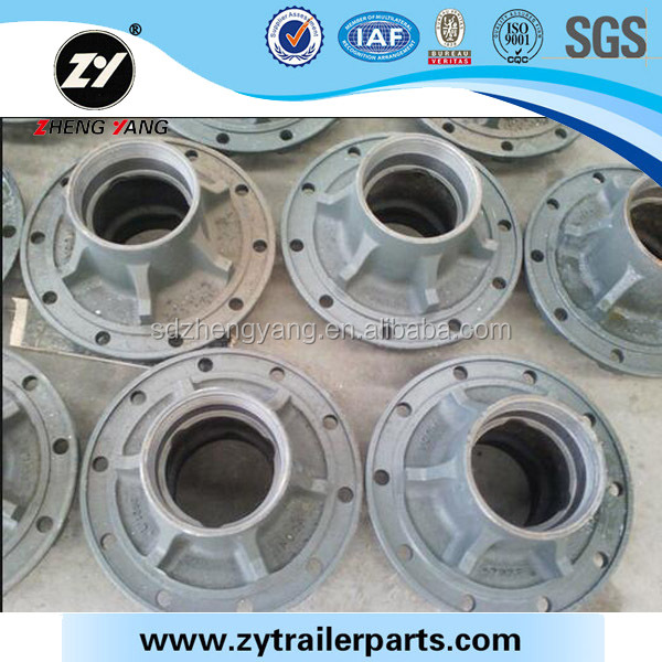 Hub for semi trailer with 10 studs from Zhengyang machinery