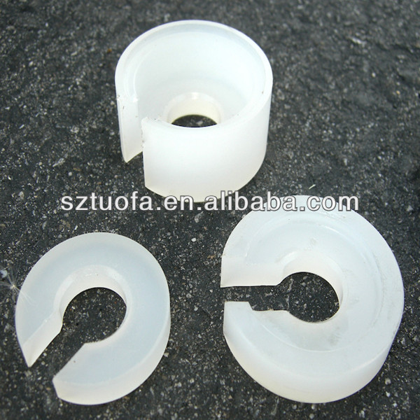 custom made white plastic parts /Delrin/POM/PVC parts