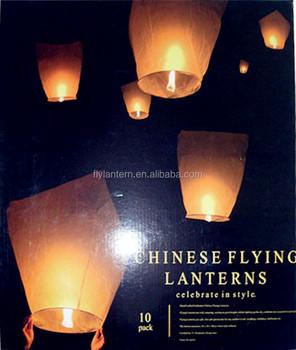 2014 Hot Design Wholesale Wish Sky Lanterns Paper Hot Air Balloons ...