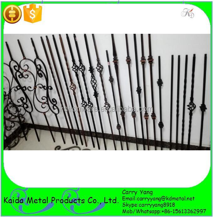 adornos de hierro forjado de hormign barrotes de metal para escaleras