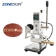 ZONESUN ZS100 Hot Foil Stamping Machine Manual Bronzing Machine for PVC Card leather and paper stamping machine