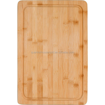 Bamboo Large Cutting Board- Thick Strong Bamboo Wood Cutting Board with Drip Groove by Premium Bamboo